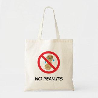 Tote Bag Aucunes arachides permises