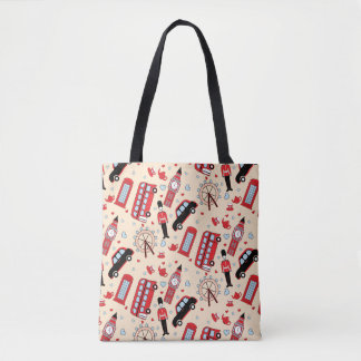 Tote Bag Avec amour d'Angleterre