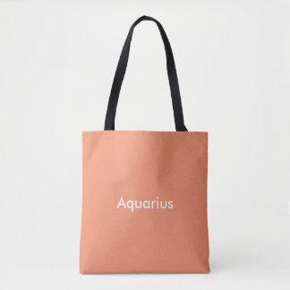 Tote Bag Bage de fourre-tout de zodiaque de Verseau