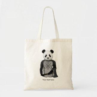 Tote Bag Barre de Viking de panda de crainte