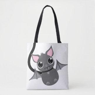Tote Bag Batte intelligente mignonne d'animal familier sur