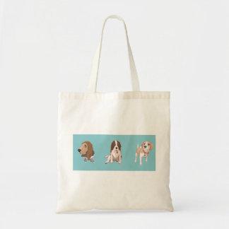 Tote Bag Beagle heureux Fourre-tout