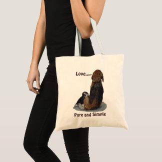 Tote Bag Beagle mignon de chiot avec l'art d'original de