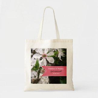 Tote Bag Beau mariage blanc de fleur