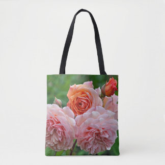 Tote Bag Beaux roses roses