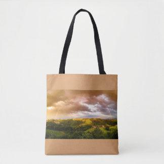 Tote Bag Belle copie partout Fourre-tout d'arc-en-ciel de
