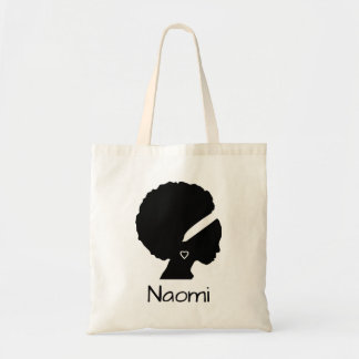 Tote Bag Belle dame avec l'Afro