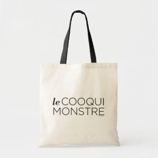 Tote Bag Black le Cooqui Monstre