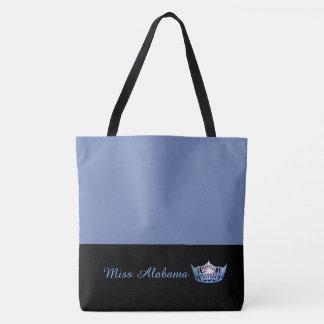 Tote Bag Bleu bleu de Sac-Milieu de Fourre-tout de couronne