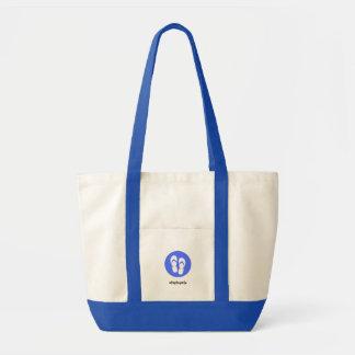 Tote Bag Bleu royal Fourre-tout de #flipfloplife
