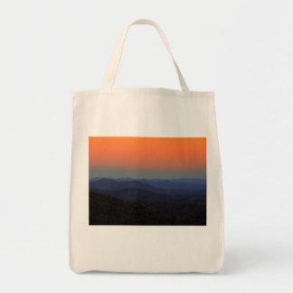 Tote Bag Blue Ridge Mountains - juste après le coucher du