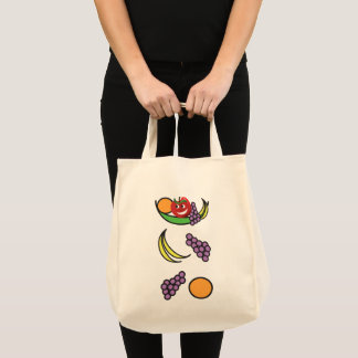 Tote Bag Bol de fruit drôle