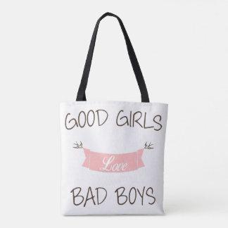 Tote Bag Bons garçons du mauvais d'amour de filles