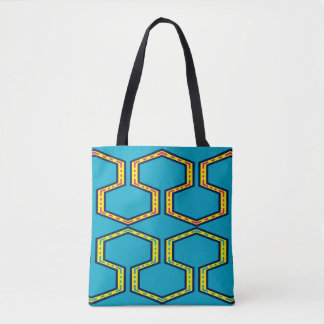 Tote Bag bourse de toile au style wayuu