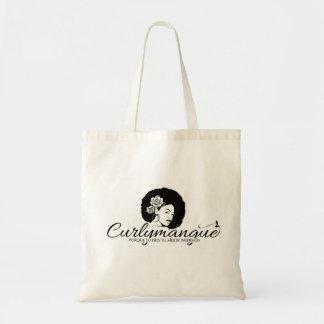 Tote Bag Bourse de toile logo curlymangue