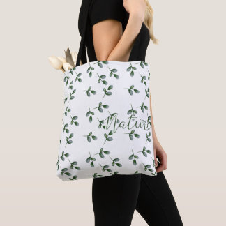 Tote Bag Bourse de Toile - Nature Leaf -