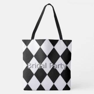 Tote Bag Bridal_Party_Harlequin_Classic (c) __Multi-Sizes