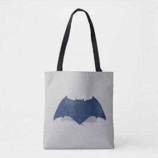 Tote Bag Brosse de la ligue de justice | et symbole tramé