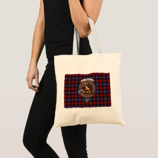 Tote Bag Brown/clan de Broun Badge le tartan Fourre-tout