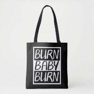 Tote Bag Brûlure de bébé de brûlure