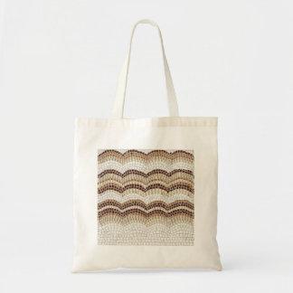 Tote Bag Budget beige Fourre-tout de mosaïque