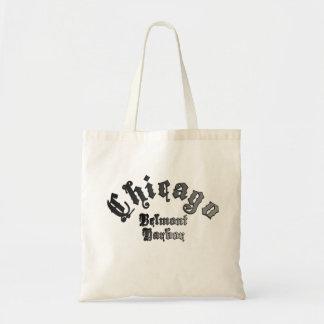 Tote Bag Budget Fourre-tout de Chicago de port de Belmont
