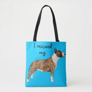 Tote Bag Bull-terrier de miniature de délivrance