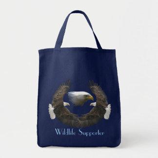 Tote Bag Cadeau de Birdlover de faune d'Eagle chauve