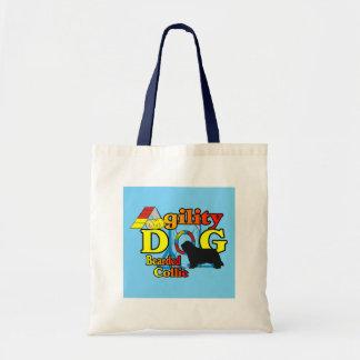 Tote Bag Cadeaux barbus d'agilité de colley