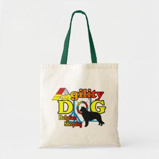Tote Bag Cadeaux belges de chemises d'agilité de chien de