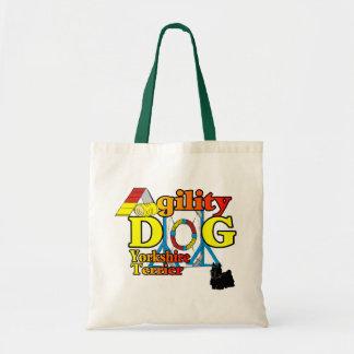 Tote Bag Cadeaux d'agilité de Yorkshire_Terrier