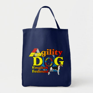 Tote Bag Cadeaux d'English_Foxhound_Agility