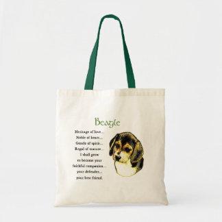 Tote Bag Cadeaux Fourre-tout d'amant de beagle