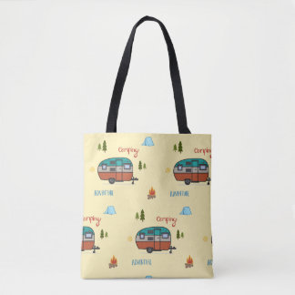 Tote Bag Camping Fourre-tout