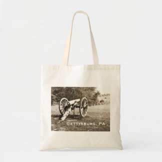 Tote Bag canon sur le champ de bataille de Gettysburg