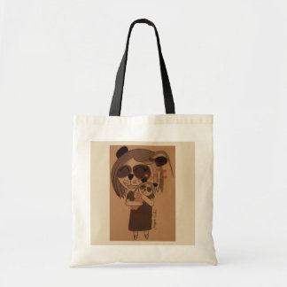Tote Bag Caresses de panda