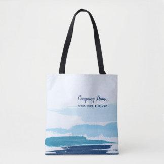 Tote Bag Carré de traçages de l'eau
