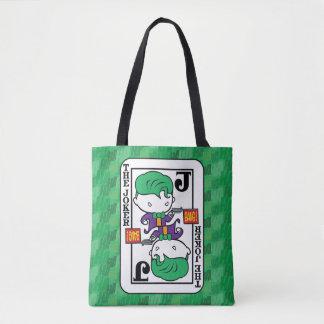 Tote Bag Carte de jeu de joker de Chibi