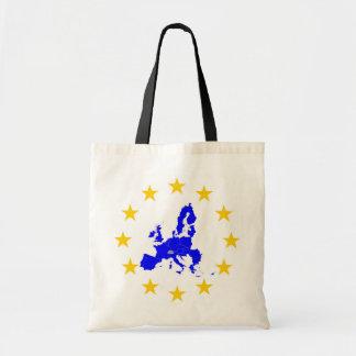 Tote Bag Carte de l'Union européenne avec le milieu