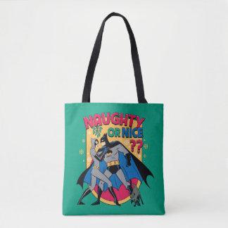 Tote Bag Catwoman de Batman | sous le gui vilain ou Nice