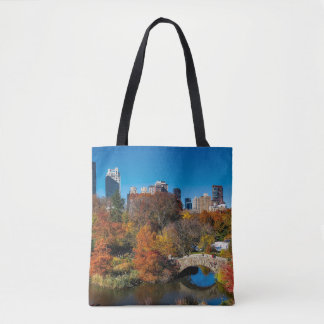 Tote Bag Central Park dans le feuillage New York d'automne