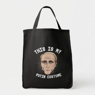 Tote Bag C'est mon costume de Vladimir Poutine - Hall