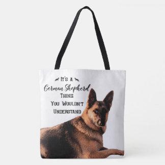 Tote Bag C'est une chose de berger allemand
