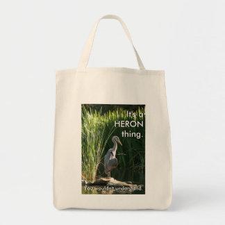 Tote Bag C'est une chose de héron