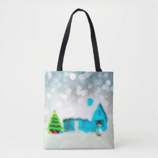 Tote Bag Chambre faite sur commande d'homme de neige