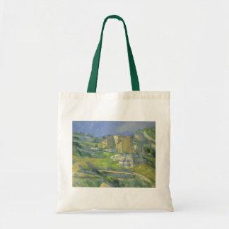 Tote Bag Chambres en Provence par Paul Cezanne, art vintage