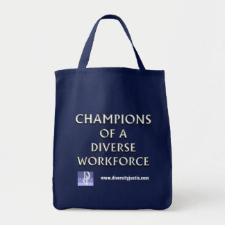 Tote Bag Champions d'une main d'oeuvre diverse