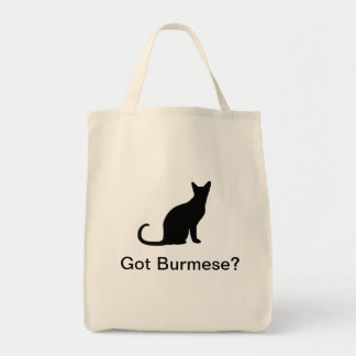 Tote Bag Chat birman obtenu