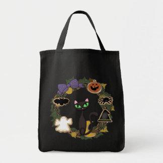 Tote Bag Chat noir Halloween