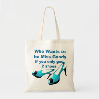 Tote Bag Chaussures de Mlle Goody deux d'attitude de diva